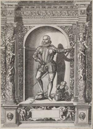 rys. Giovanni Battista Fontana (1541-1587), ryt. Dominicus Custos (ok.1560-1615), Don Johann von Osterreich (1547-1578)