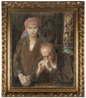 Teodor Axentowicz (1859 Braszów/Rumunia - 1938 Kraków), Zaduma