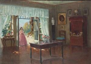 Bronisława Rychter-Janowska (1868 Kraków - 1953 tamże), Wnętrze dworku