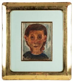 Tadeusz Makowski (1882 Oświęcim - 1932 Paryż), Studium głowy, 1929 r.