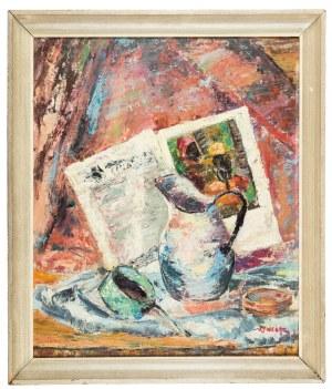 Jakub Zucker (1900 Radom - 1981 Nowy Jork), Martwa natura, l. 20 XX w.