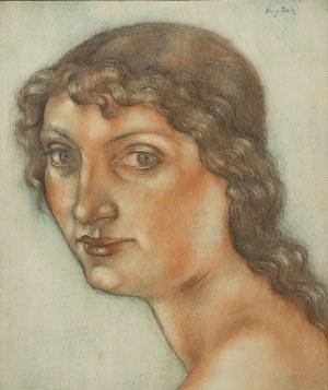 Eugeniusz Zak (1884 Mogilno – 1926 Paryż), Portret dziewczyny, po 1913 r.