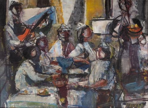 Zygmunt Menkes (1896 Lwów - 1986 Riverdale), Przyjęcie urodzinowe