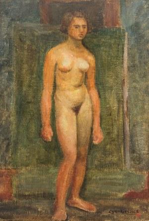 Zdzisław Cyankiewicz (1912 Białystok - 1981 Paryż), Akt