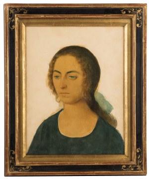 Maurycy Minkowski (1881-1930), Portret dziewczyny, 1922 r.