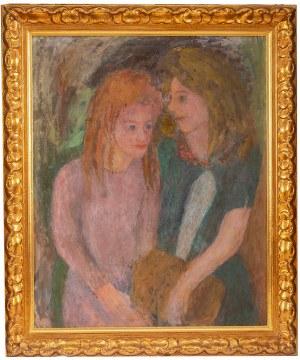 Eugeniusz Eibisch (1896 Lublin - 1987 Warszawa), Dwie dziewczyny