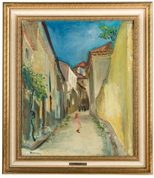 Marek Szwarc (1892 Zgierz-1958 Paryż), Pejzaż miejski