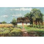 Wiktor Korecki (1890 Kamieniec Podolski - 1980 Milanówek k. Warszawy), Malwy w ogrodzie