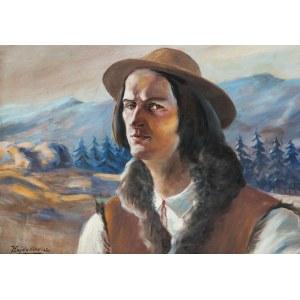 Mateusz Ludwik Hajdukiewicz (1886-?), Portret młodego górala