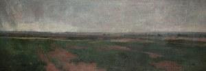 Jerzy Karszniewicz (1878 Tarnów - 1945 Kraków), Pejzaż panoramiczny