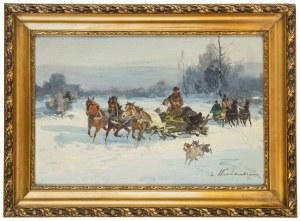 Czesław Wasilewski (1875 Warszawa – 1947 Łódź), Po polowaniu
