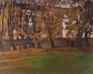 Stanisław Czajkowski (1878 Warszawa - 1954 Sandomierz), Pejzaż, 1906 r.