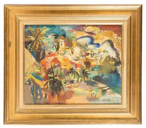 Ludwik Klimek (1912 Skoczów - 1992 Nicea), Villefranche - Nicea, 1966 r.