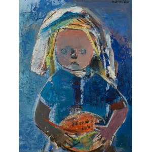 Rajmund Kanelba (1897 Warszawa - 1960 Londyn), Dziewczynka z melonem