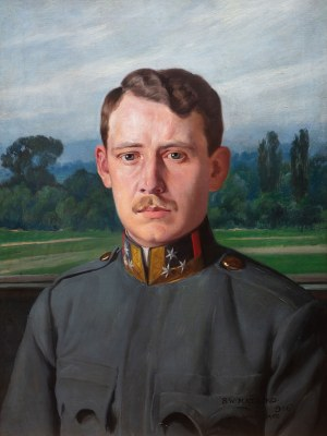 Stefan Matejko (1871-1933), Portret Karola Albrechta Habsburga, 1916 r.