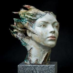 Joanna Bruździńska, WIATR, 30 x 30 cm/20 x 20 cm