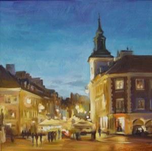 Rajmund Gałecki, Ulica Freta nocą, 2021 r.