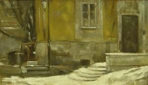 Rajmund Gałecki, Zima na Nowym Mieście II, 2013 r.