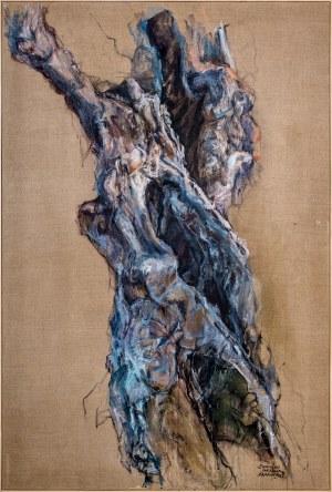Grzegorz SKAWIŃSKI (ur. 1958), Ananke z cyklu: Drzewa oliwne, 2017