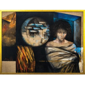 Mira SKOCZEK-WOJNICKA (ur. 1959), Księżycowy chłopiec, 2005
