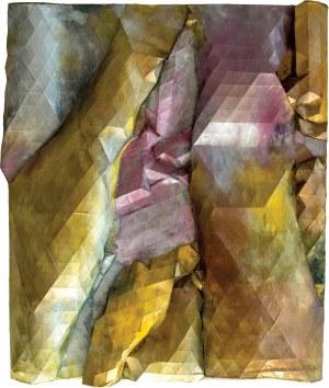 Maria NIEWIADOMSKA (ur. 1961), Relief Złoty, 2020