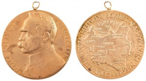 Medal, JÓZEF PIŁSUDSKI, 10 ROCZNICA ZAWIESZENIA BRONI, 1930
