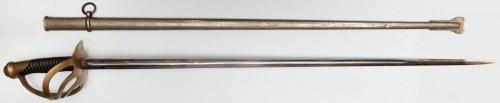 PAŁASZ KIRASJERSKI M1854, Francja, Klingenthal, Coulaux & Co, po 1895