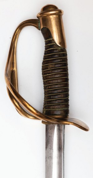 SZABLA LEKKIEJ KAWALERII M1822, Francja, Klingenthal, Coulaux & Co (głownia); Paryż, G. Barre (rękojeść), po 1845