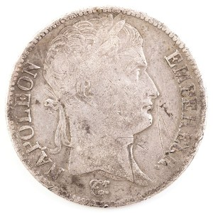 5 FRANKÓW, Francja, Napoleon, 1811 A, Paryż