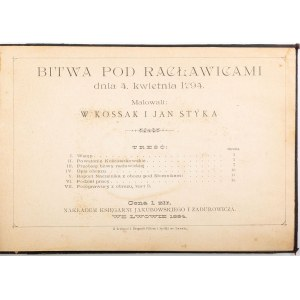 BITWA POD RACŁAWICAMI DNIA 4 KWIETNIA 1794