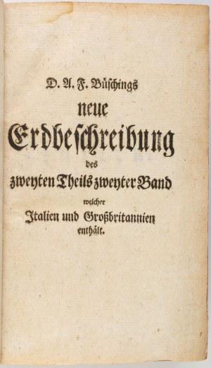 Anton Friedrich BÜSCHINGS