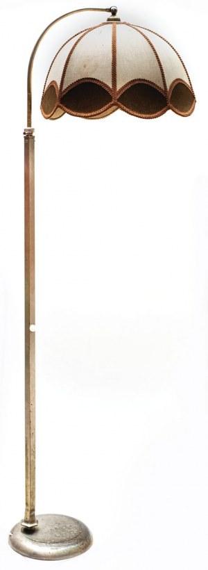 LAMPA PODŁOGOWA W STYLU ART DECO, ok. 1930