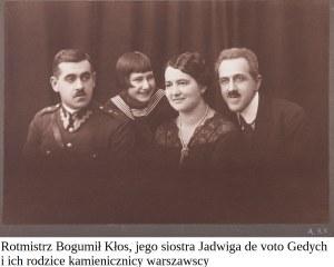 FOTOGRAFIE BOGUMIŁA KŁOSA I JEGO RODZINY, lat 30. XX w.