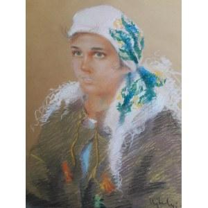 Janos Ujchelyi, Portret hucułki