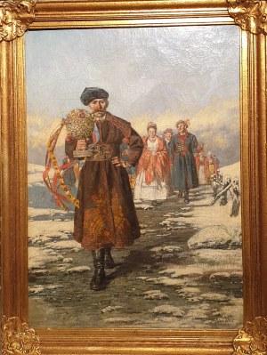 Ludwik Stasiak, Starosta weselny z orszakiem