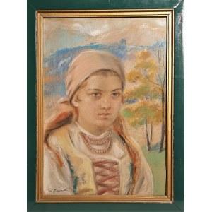 Stanisław Górski, Portret młodej góralki