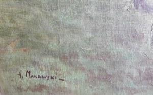 Aleksander Makowski, Pejzaż z brzozami