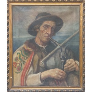 Kazimierz Szmyt, Portret górala z dudami