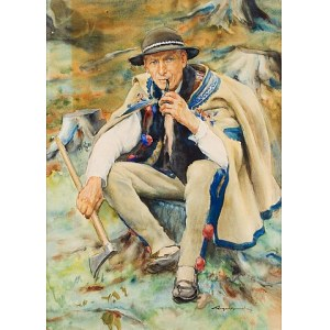 Aleksander Augustynowicz, Portret młodego górala