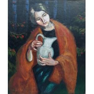 Wilhelm Wilk-Osecki, Dziewczyna z dzbanem