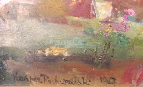 Kasper Pochwalski, W ogrodzie