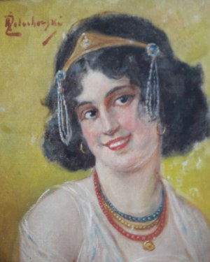 Kasper Żelechowski, Portret młodej damy