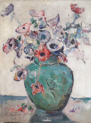 Włodzimierz Terlikowski, Martwa natura z bukietem anemonów