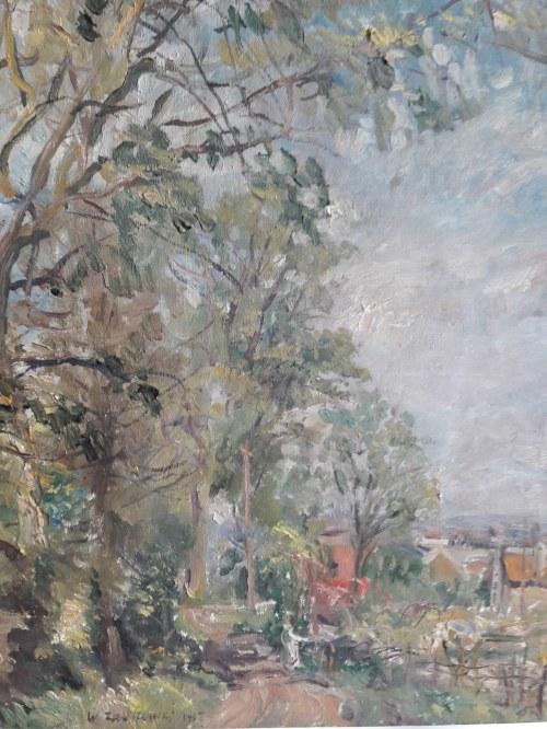 Włodzimierz Zakrzewski, Krajobraz z Sucy en Brie