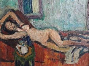 Marian Szmańda, Akt kobiecy we wnętrzu