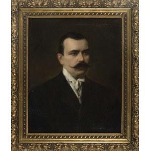 Ferdynand BRYLL, PORTRET ALEKSANDRA HRABIEGO KRZYWICKIEGO