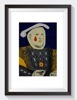 Dawid Zdobylak, Henryk VIII – wzorowany na Hansie Holbainie