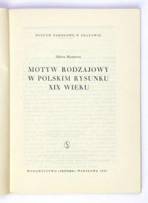 Muzeum Narodowe w Krakowie. Motyw rodzajowy w polskim rysunku XIX w.