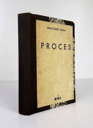 KAFKA Franciszek - Proces. Pierwsze polskie wydanie