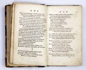 KRASZEWSKI J[ózef ] I[gnacy] - Poezye. T. 1-2. Wilno 1838. W Drukarni S. Blumowicza. T. 1: 16d, s. [4], 205, [2]; T....